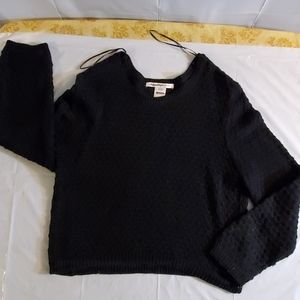 Cropped knitted sweater xl